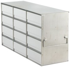 Upright Metal Freezer Racks