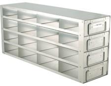Upright Metal Freezer Drawer Racks