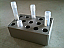 Silver CryoBlock with Tubes