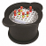 TrueNorth Black Ice Bucket