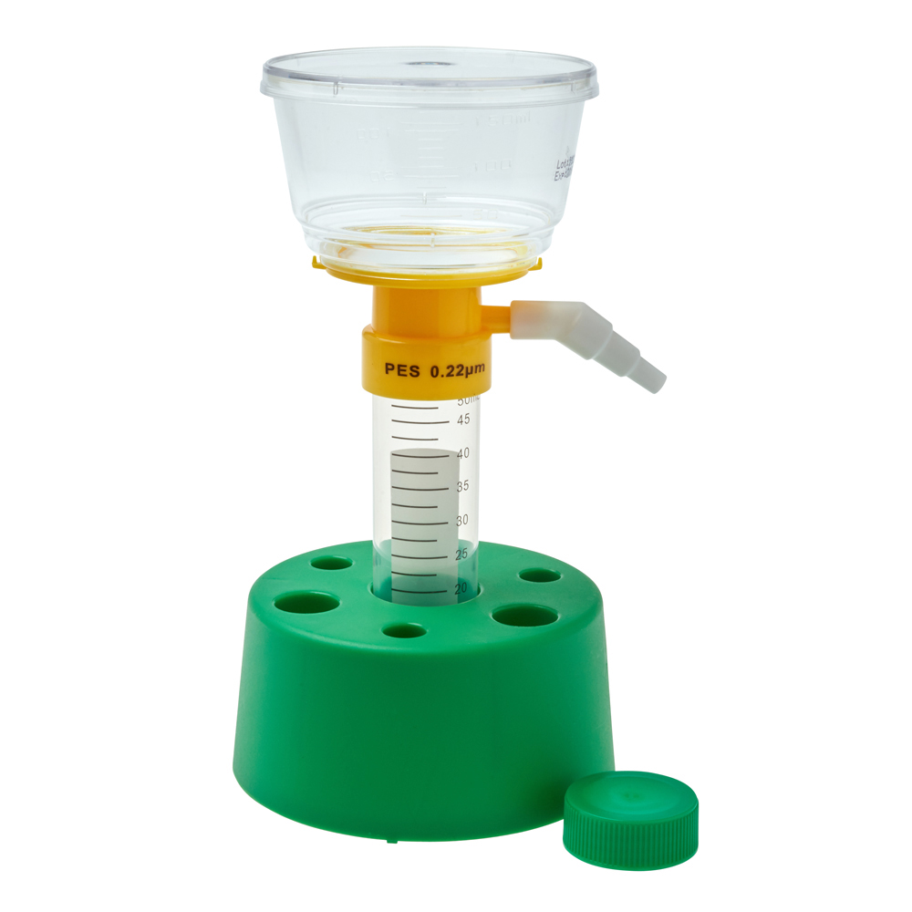 50mL Centrifuge Tube Filter, PES, 0.22μm, Sterile, 12/Case