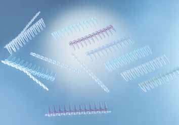 Sapphire PCR 0.2ml strips, standard clear, individual attached optical caps for Real Time PCR, 1200/Case