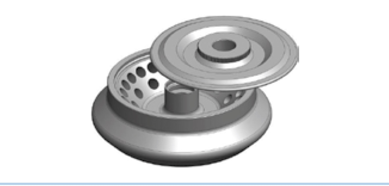 36 x 2/1.5ml Fixed Angle Rotor for C0336 Series Centrifuges