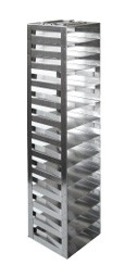 """Vertical Racks with Spring Clip for 2"""" Boxes with Locking Rod (Capacity: 13 Boxes)"""