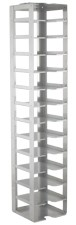 """Vertical Rack for 2"""" Boxes (Capacity: 13 Boxes)"""