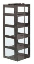 """Vertical Rack for 3"""" Boxes (Capacity: 5 Boxes)"""