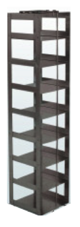 "Vertical Rack for 3"" Boxes (Capacity: 8 Boxes)"