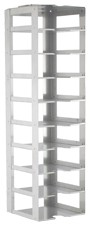 """Vertical Rack for 2"""" Boxes (Capacity: 9 Boxes)"""