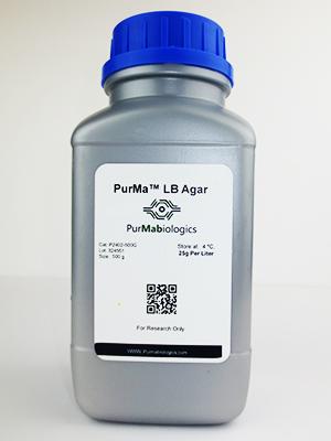 PurMa™ LB Agar Medium – 500 G