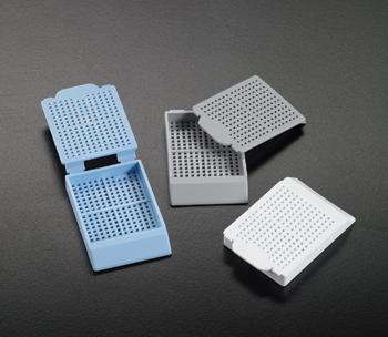 Histosette I -- Biopsy Processing / Embedding Cassettes (45 degree angle)