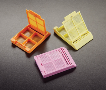Micromesh -- Biopsy Processing / Embedding Cassettes (With 4 Compartments)