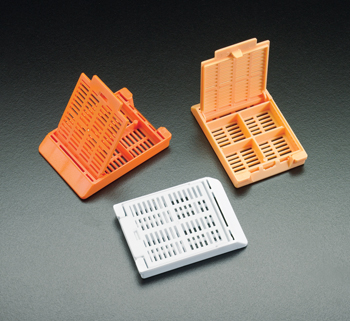 Slimsette -- Tissue Processing / Embedding Cassettes (With 4 Compartments)