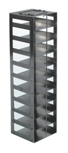 """Mini Vertical Rack for 2"""" Boxes (Capacity: 10 Boxes)"""