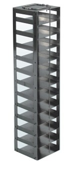 "Mini Vertical Rack for 2"" Boxes (Capacity: 12 Boxes)"