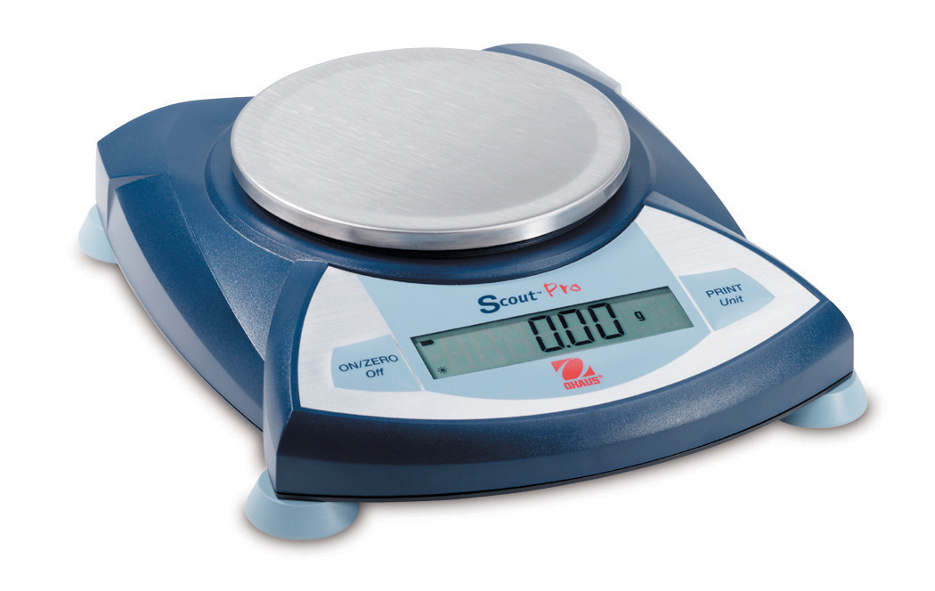 Scout® Pro Portable Scales -- With Round Pan
