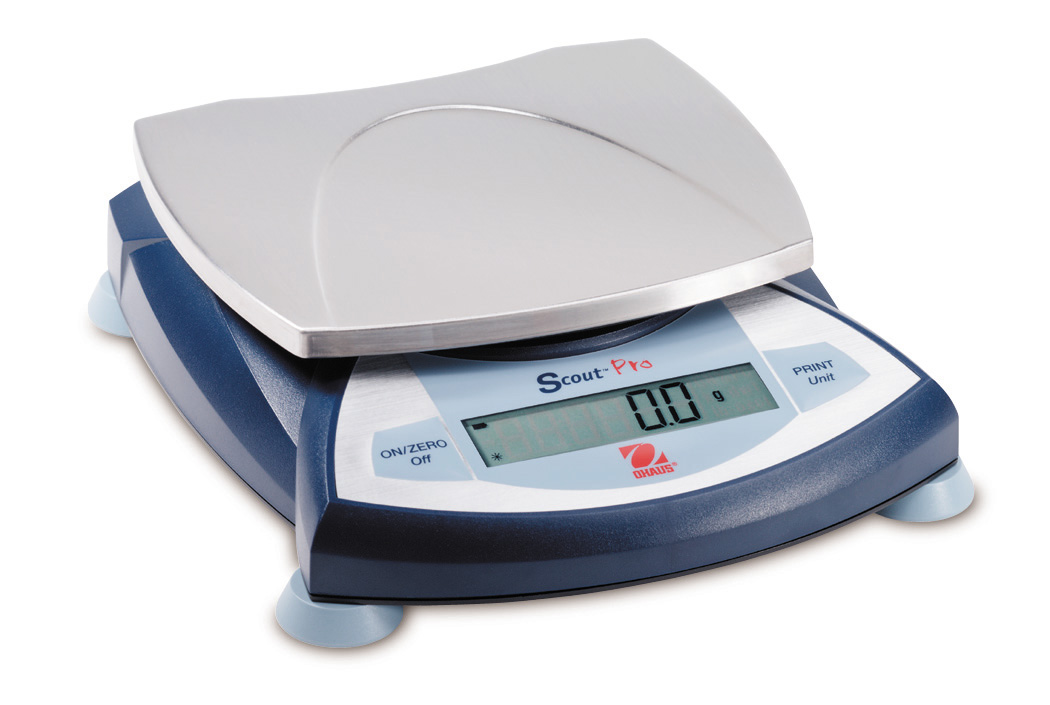Scout® Pro Portable Scales -- With Square Pan