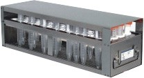 Upright Freezer Drawer Rack for 15mL Centrifuge Tubes (Capacity: 104 Tubes)