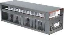 Upright Freezer Drawer Rack for 15mL Centrifuge Tubes (Capacity: 80 Tubes)