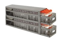 Upright Freezer Drawer Rack for 50mL Centrifuge Tubes (Capacity: 102 Tubes)