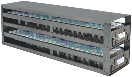 Upright Freezer Drawer Racks for 1mL Blood Sample Tubes (Capacity: 240 Tubes)