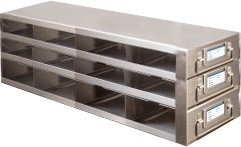 Upright Metal Freezer Drawer Racks for 96-Well and 384-Well Microtiter Plates (Capacity: 36-48 Plates)