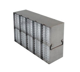 Upright Metal Freezer Racks for 96-Well and 384-Well Microtiter Plates (Capacity: 80-100 Plates)