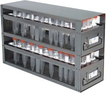 Upright Freezer Drawer Rack for 15mL Centrifuge Tubes (Capacity: 160 Tubes)