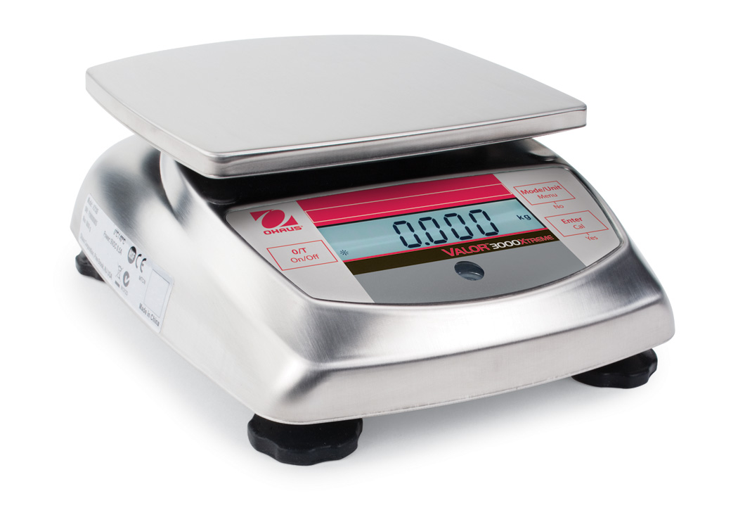 Valor 3000 Xtreme Compact Scales -- Non-Washdown Models