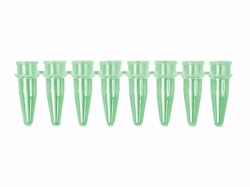 Green 8-Strip PCR Tubes