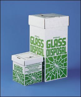 Glass Disposal Bin