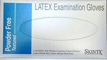 SkinTX Latex Gloves