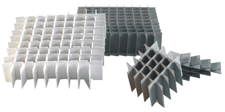 """Cell Dividers for 4"""" Cardboard Boxes"""