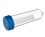 50ml Conical Bottom, Blue Screw Cap, Natural, CELLSTAR, Polypropylene Tube w/Rack 300/case