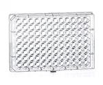 96 Well Microplate, ELISA, PS, Flat-Bottom, Clear, MICROLON®, High Binding, 40 Plates/Case