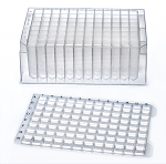 2mL 96-W Deep Well Plate, Round Bottom, Sterile, 50/Case