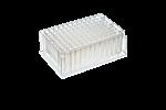 2mL 96-W Deep Well Plate, Square, V-Bottom, 50/Case