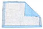 "Blue Chux Absorbant Underpads - 17"" x 24"""
