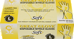 GREAT GLOVE Soft Nitrile Powder-Free Gloves, Large, 100/box, 10 boxes/case