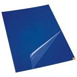Tacky Traxx, Blue, 36'' x 36'', 30 Sheets/Mat, 4 Mats/Case