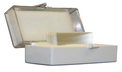 Square Cover Glass, 10oz. per pack