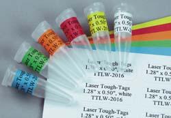 """Laser Tough-Tags® 1.28"""" x 0.50"""""""