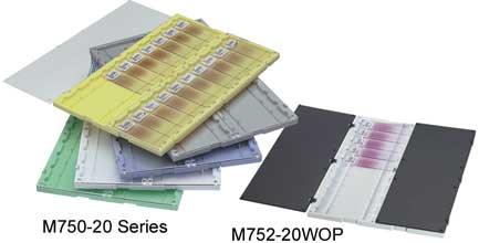 Slide Folders with Clear Covers