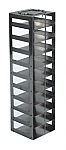 "Mini Vertical Rack for 2"" Boxes (Capacity: 10 Boxes)"