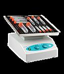 Labnet GyroTwister Adjustable with 30 x 30 cm non-slip platform and dimpled tube mat, with adjustable tilt angle, 120V