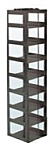 "Mini Vertical Rack for 3"" Boxes (Capacity: 8 Boxes)"