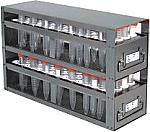 Upright Freezer Drawer Rack for 15mL Centrifuge Tubes (Capacity: 208 Tubes)