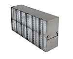 Upright Metal Freezer Racks for 96-Well and 384-Well Microtiter Plates (Capacity: 96-120 Plates)