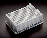 BioBlock Deep Well Plates with 600µl 8-Tube Strips (96 Well)