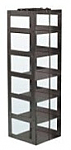 "Mini Vertical Rack for 3"" Boxes (Capacity: 6 Boxes)"