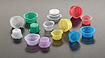 13mm Blue Thumb Cap for Glass Culture Tubes
